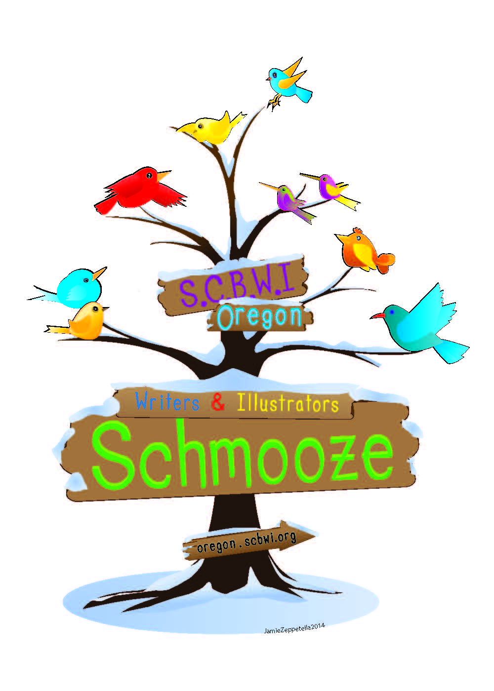 "What is a Schmooze? A schmooze is an informal gathering where members meet to socialize and talk about children's writing.  It is a support/fellowship/networking meeting. Often there are no guest speakers at a schmooze. Nor is any critiquing done. For purposes of comfort and safety, schmoozes are usually held in public venues (libraries, churches, parks, restaurants, bookstores, etc.). A topic for discussion may be chosen ahead of time to ""get the ball rolling,"" but the object is to encourage everyone to participate. Input from attendees with experience related to the topic is always welcome. Or participants may attend an event together (i.e. a booksigning, author appearance, etc.). Attendees Open to SCBWI members and nonmembers. Attendees are discouraged from bringing young children to SCBWI events. Caregivers or facilitators for physically impaired attendees are always welcome. Regular Schmoozes currently on the Calendar - check calendar for specific dates and times or click here to go to the events page. Clark County, Vancouver, WA – monthly SE Portland – bimonthly League of Exceptional Writers Schmooze – monthly (Oct-May) PLAN A SCHMOOZE Here's how: 1. Get approval from Carol Bloemen, Schmooze Coordinator, at bloemen.carol@gmail.com. 2. Choose a free location (a library, a community center, a cafe) and a date and time—one to two hours is a good length. Note: schmoozes are free to members and nonmembers alike, so a good way to introduce people to SCBWI. 3. Send a written announcement to Carol Bloemen for publicity purposes. Include a contact email and/or phone number. She'll send it to the appropriate people for the website, unless you prefer not, and if there's enough lead time, for the next NewsWorthy (deadlines are Jan 30, Mar 30, May 30, Jul 30, Sep 30 & Nov 30). 4. Share about the Schmooze on Toad Hall or other listserves where you can invite writers and illustrators. 5. If your Schmooze is location based, Carol can send an email announcing the Schmooze to people in that area. 6. Report back to Carol on results and she'll share in the newsletter.  Questions? Contact Carol Bloemen at bloemen.carol@gmail.com"