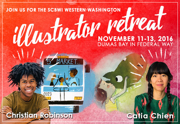 Registration for this year's Joint Illustrator's Retreat hosted by WWA opens9/22/16. Go towww.wwa.scbwi.orgfor more information and to register.